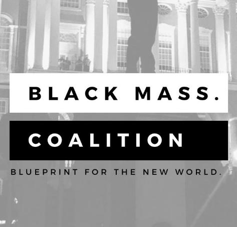 Black Mass Coalition logo
